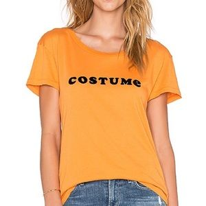 Wildfox Easy Costume Halloween Tee Shirt Medium